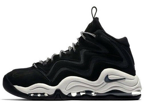 NIKE AIR PIPPEN BLACK GREY SIZE 10.5 BRAND NEW FAST SHIPPING (325001-004)