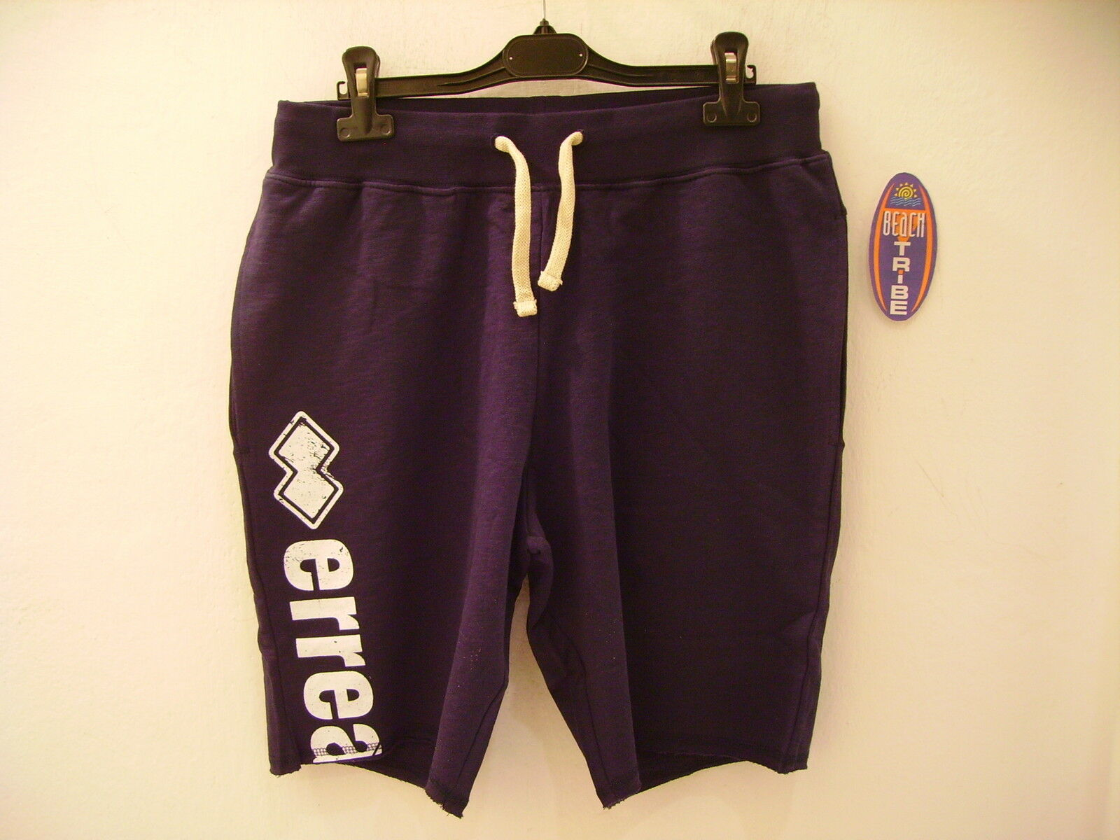Errea Shorts Man Alric bluee Jersey Elastic XXL
