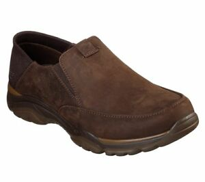 65719 Viscoelástica Hombre Espuma Skechers Marrón Zapatos Oscuro rAqvrZS