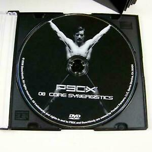 P90x Core Synergistics DVD Disc 8 Replacement Tony Horton Beach Body Ship