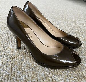 New In Box Cole Haan Brown Leather Air Kimry Ot Wedge
