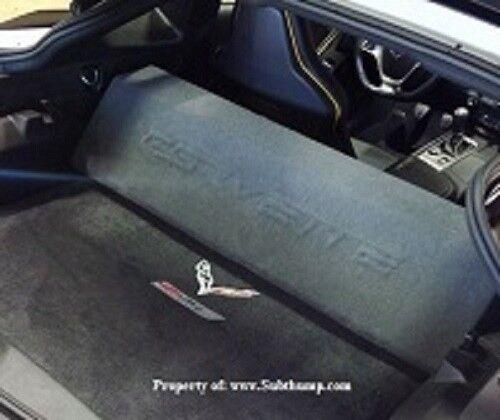 *New* 2014-2019 C7 Corvette Dual 10 Downfire Subwoofer Box
