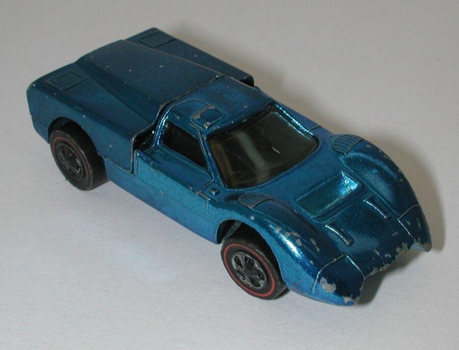 Rossoline Hotwheels blu 1968 Ford J J J Car oc15649 ec80ec