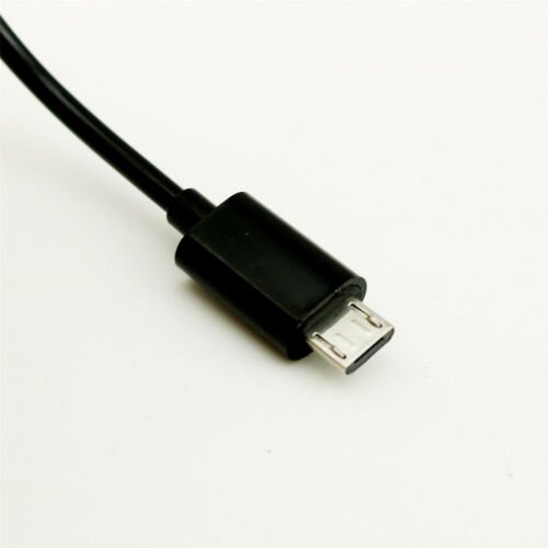 1pc 1M 3FT Spiral Coiled Micro USB B Male 5 Pin to Mini USB B Male Adapter Cable