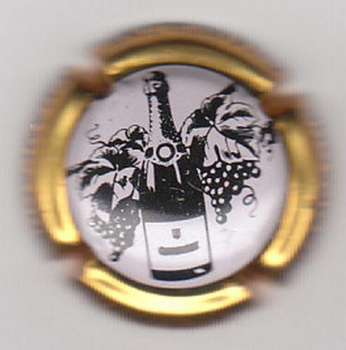 capsule de champagne générique 712g contour or fond blanc