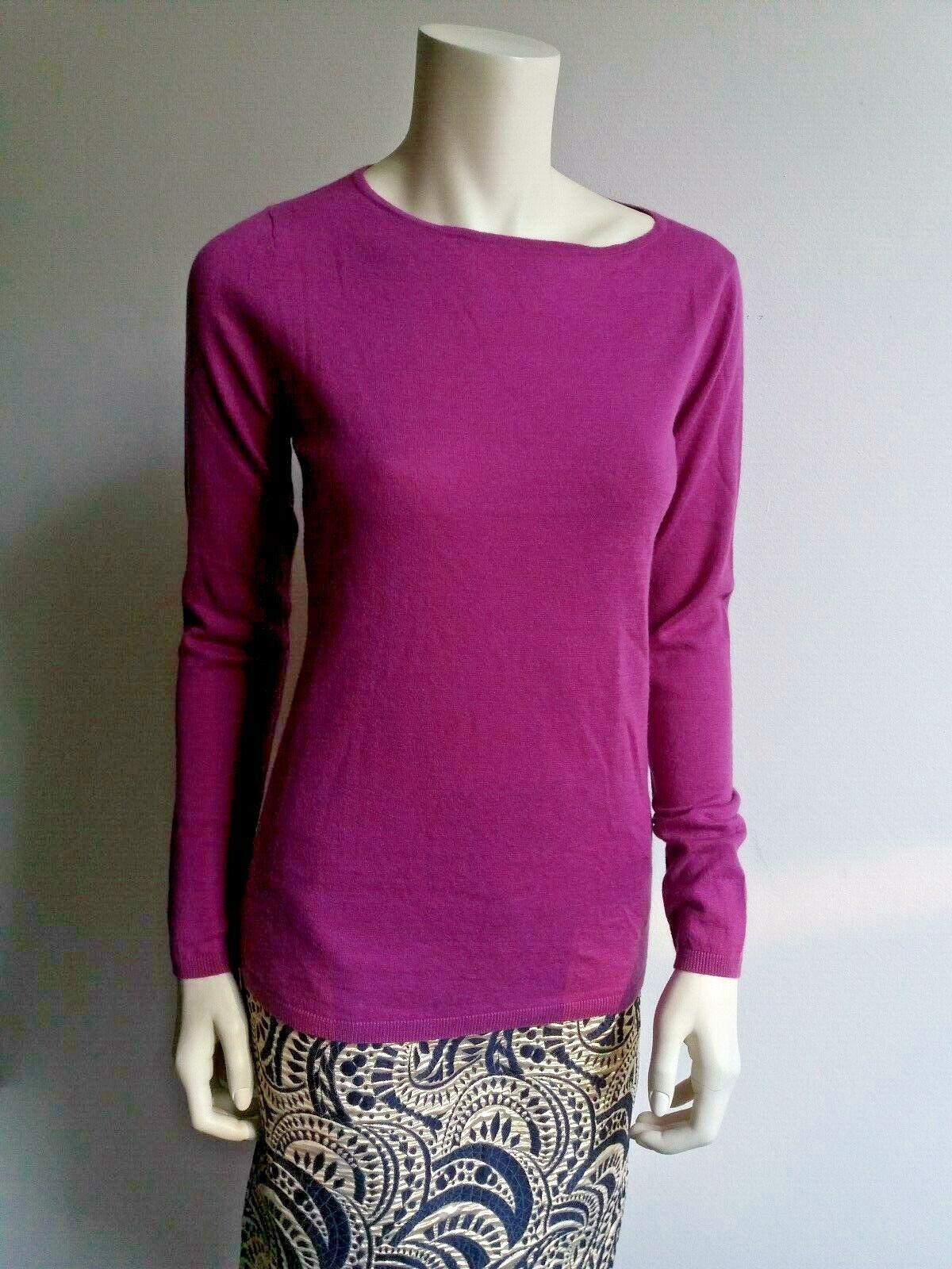 NewMAX MARA Pink Soft 100% CASHMERE Sweater, Sweater, Sweater, size L ea7234