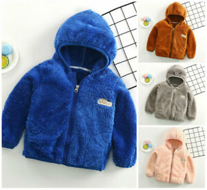 1pc-kids-girls-boys-autumn-warm-fluffy-coat-jacket-hoodie-outerwear-kids-Jackets