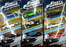 HOT WHEELS FAST & FURIOUS  9 CARS 3 SET 1/55 FORD DODGE JEEP FCG01-956A