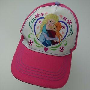 Frozen Disney Adjustable Girls Baseball Ball Cap Hat