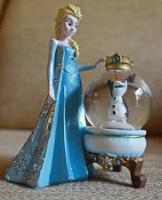 Official Disney Store - Elsa and Olaf Snow Globe (Rare) from Frozen