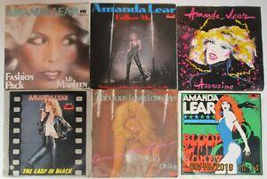 AMANDA-LEAR-LOTTO-6-DISCHI-45-GIRI