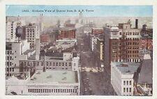 LAM(B) Denver, CO - Bird's Eye View of Denver from D & F Tower