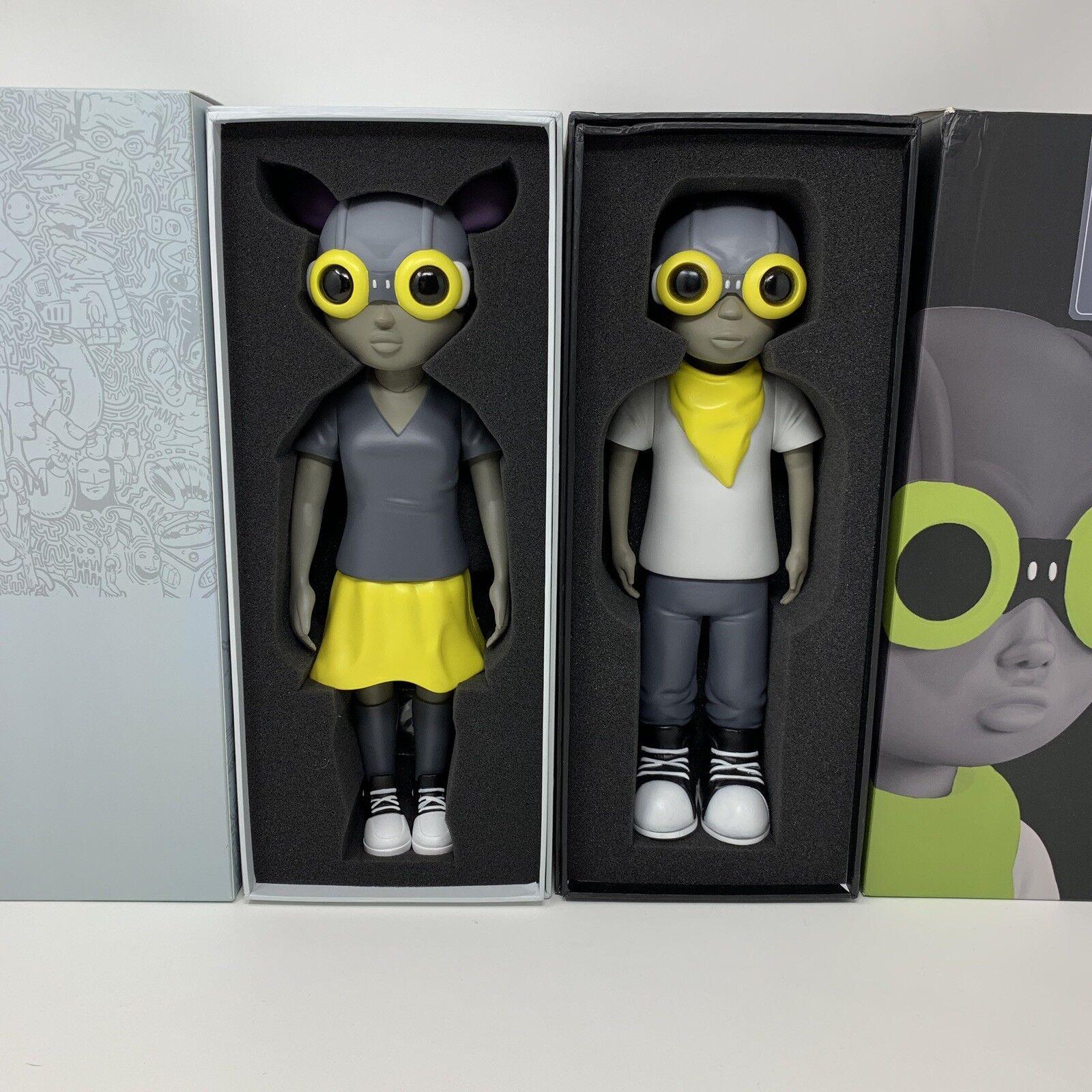 Hebru Brantley Mellow Yellow Flyboy & Lil Momma Fly Girl Volt color Set