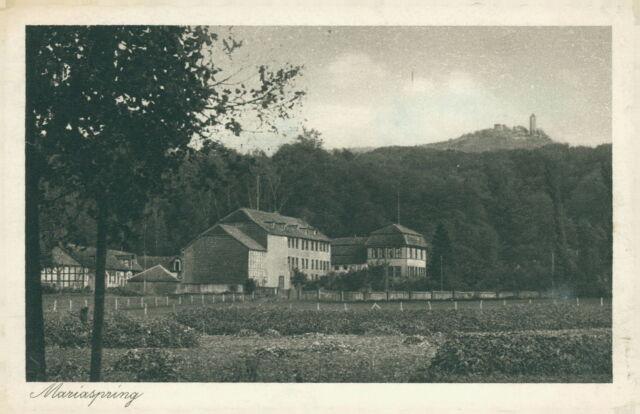 Ansichtskarte Mariaspring Hotel Pension Amt Nörten 1926  (Nr.835)