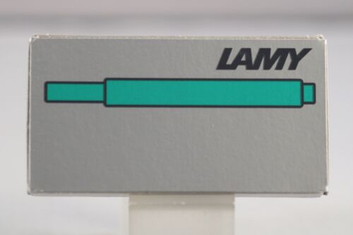 Lamy T10 Green Ink Refills x 5 Germany