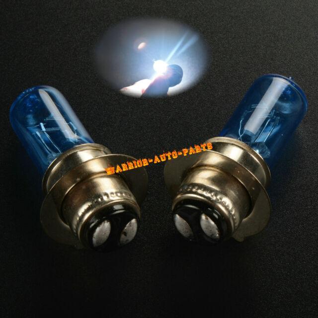 for Yamaha Banshee 350 Yfz350 2003-2006 White Xenon Headlight Bulbs 2004  2005 X2