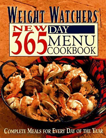 1 of 1 - Weight Watchers New 365-Day Menu Cookbook: Complet