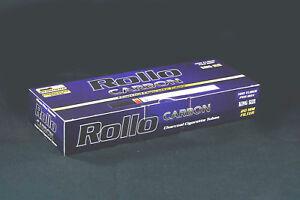 600-NEW-034-CARBON-034-EMPTY-ROLLO-TUBE-Cigarrette-Tobbacco-Filter-Ventti
