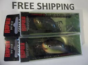 Choice of Colors Rapala Dives-To Fat //// DTFAT03 //// 6cm 14g Fishing Lures