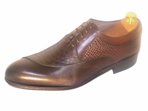 Shoe Italian pelle Bi Man Anaconda in New materiale e Way Luxury RP7UPT