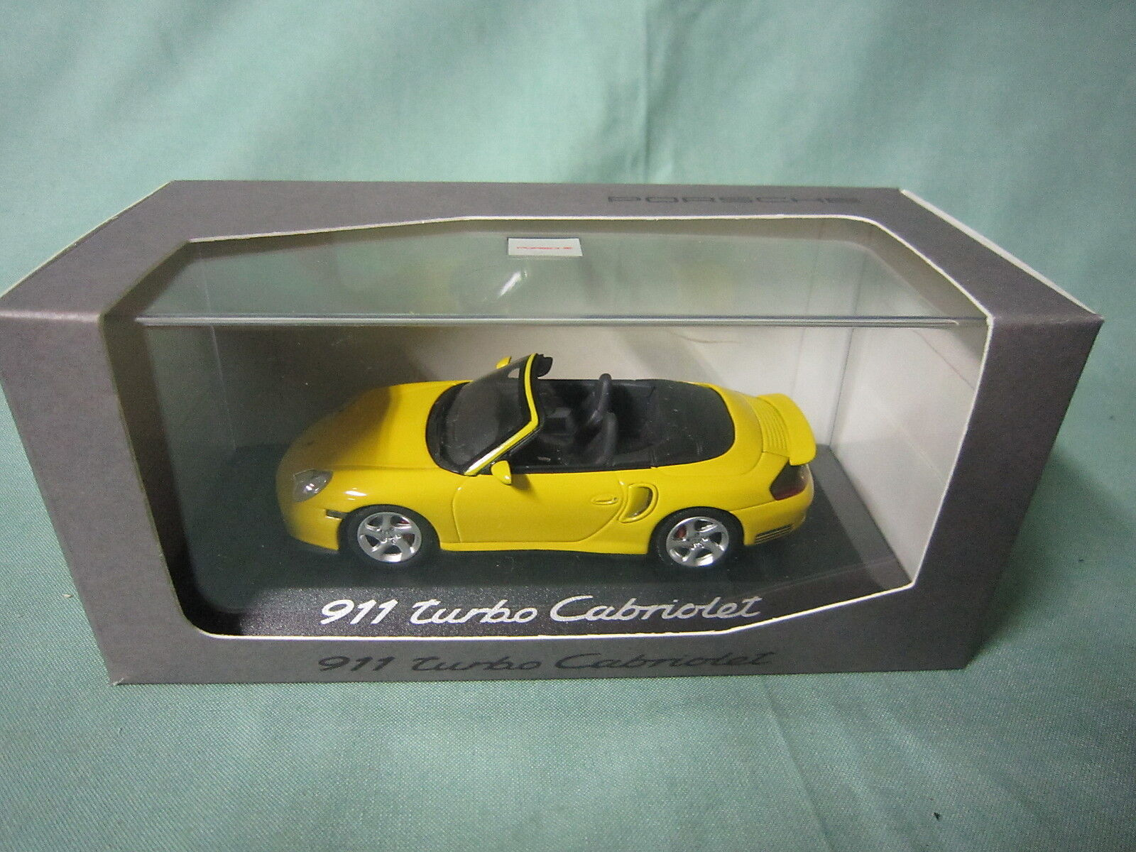 Dv4962 minichamps porsche 911 turbo cabriolet ref wap - 020 102 14 1 43 nb