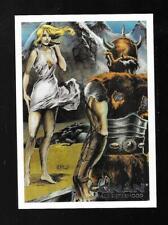 Conan Art Of The Hyborian Age Savage Sisterhood Chase Card S6