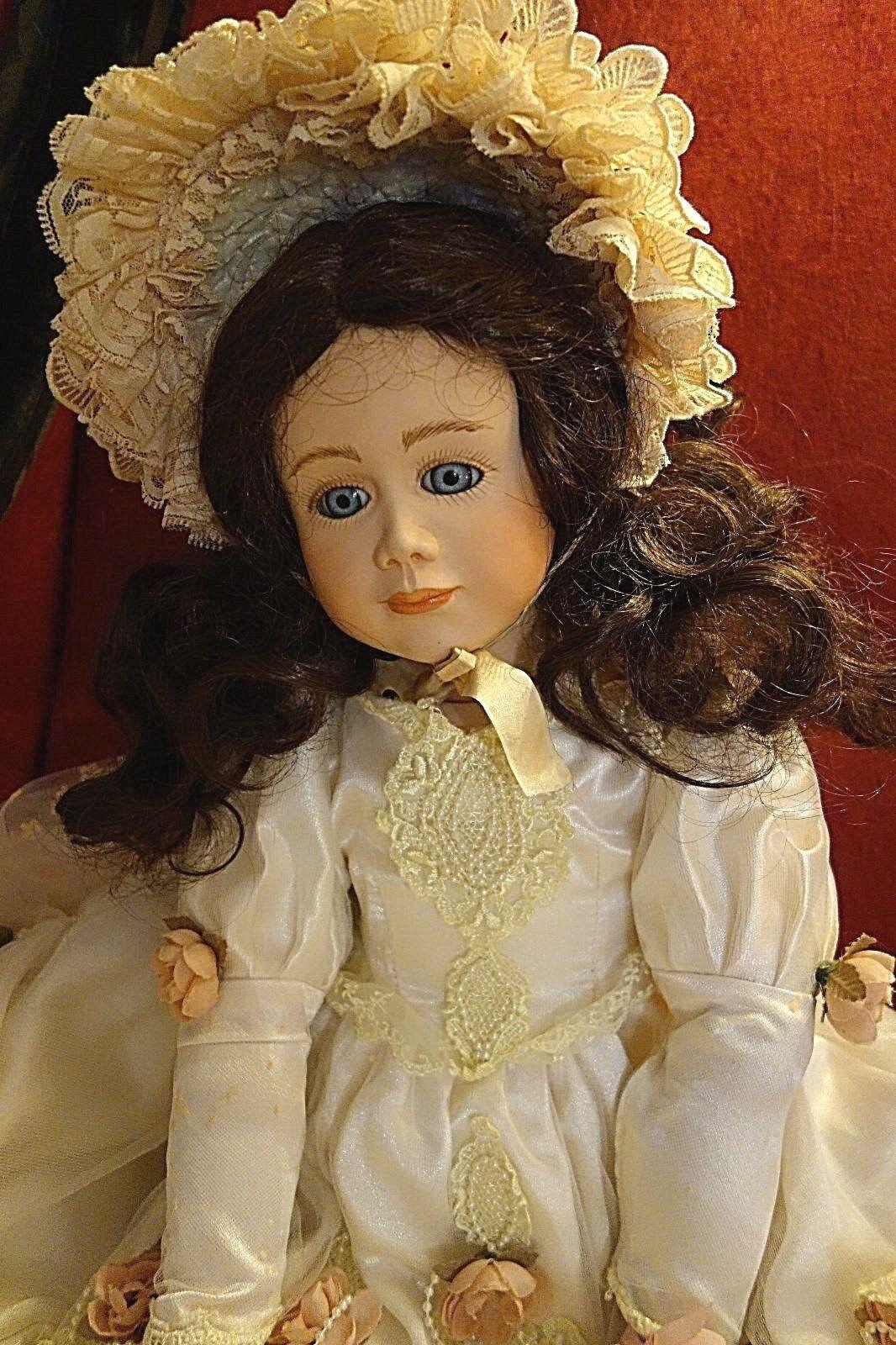 Artisti da Sogno Bambola pezzo unico fatto a mano V. Ingrid till uomo di porcellana