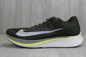 4e664c8d41d5 32 New Nike Zoom Fly Men s Running Shoes 880848-301 Sequoia  Olive ...