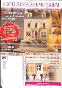 DéSintéRessé Dolls House Emporium 24/12/09 24 Page Newsletter Catalogue Pâtisserie Meubles-afficher Le Titre D'origine Facile à Lubrifier