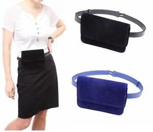 Fashion Velvet Waist Fanny Pack Belt Bag Pouch Travel Hip Bag Women ... c69ec40994