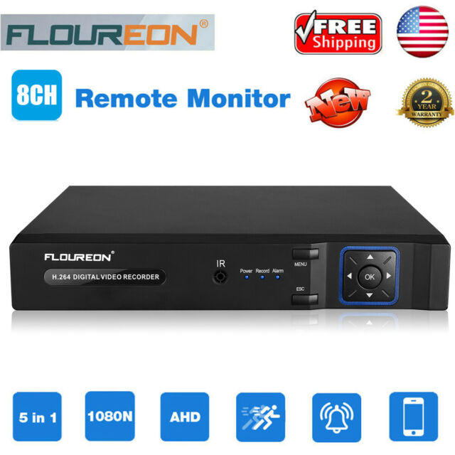 8CH 5in1 Standalone DVR Video Recorder VGA For Home Security System CCTV Camera
