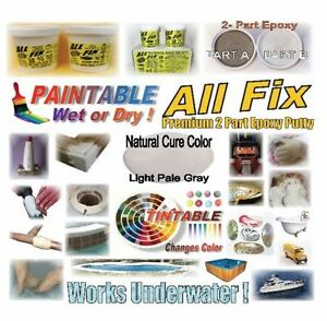 All Fix Underwater Epoxy Putty Pool Spa Hot Tub Shower