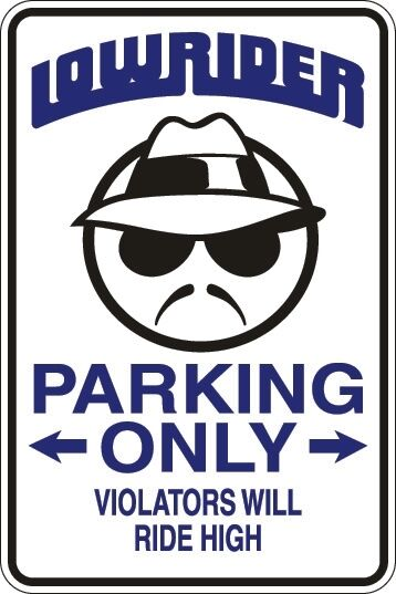 "*Aluminum* Alien Parking Only 8/""x12/"" Metal Novelty Sign  S004"