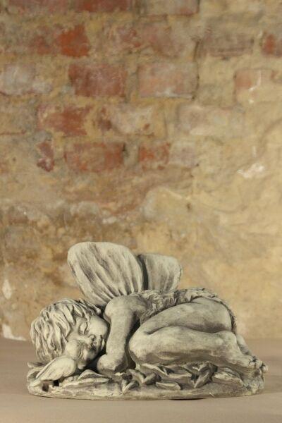 Figur Skulptur Elfenkind  Dundin Dundin Dundin  Engel Steinguss Steinfigur Vidroflor c477f5
