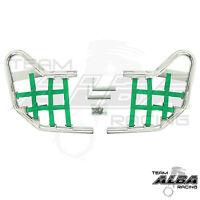 Trx 400ex 400x Honda Nerf Bars Alba Racing Silver Green 211 T1 Sg