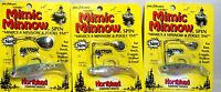Vintage Northland lifelike Rainbow Trout Mimic Minnow Spin Choose Size