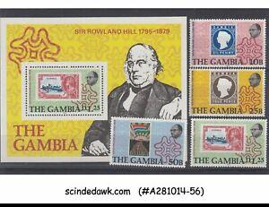 Gambie - 1979 Mort Centenaire De Sir Rowland Hill - 4-timbres & 1-min/sht - Neuf Sans Charnière-afficher Le Titre D'origine