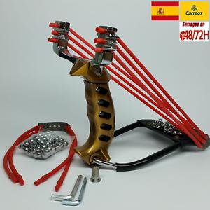 profesional competición Tirachinas slingshot deportivo de acero pesca caza