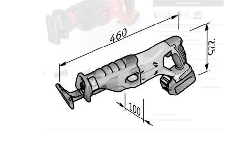 Akku-Säbelsäge 18,0 V  447.153 Flex Akku-Rotationspolierer 18,0 V