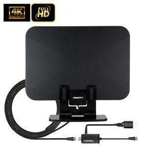 LEADZM-100-Mile-Indoor-Digital-HDTV-TV-Antenna-Amplifier-1080p-4K-Stand-Base