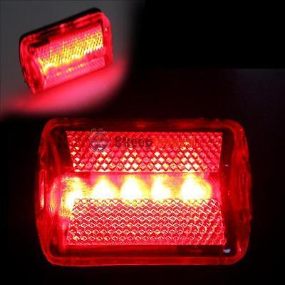 5LED Flashing Lamp Red Light Rear Cycling Bicycle Bike Tail Night Safety Warning