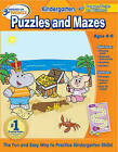 Hooked on Learning Kindergarten Puzzles and Mazes by Hooked on Phonics (Mixed media product, 2009)