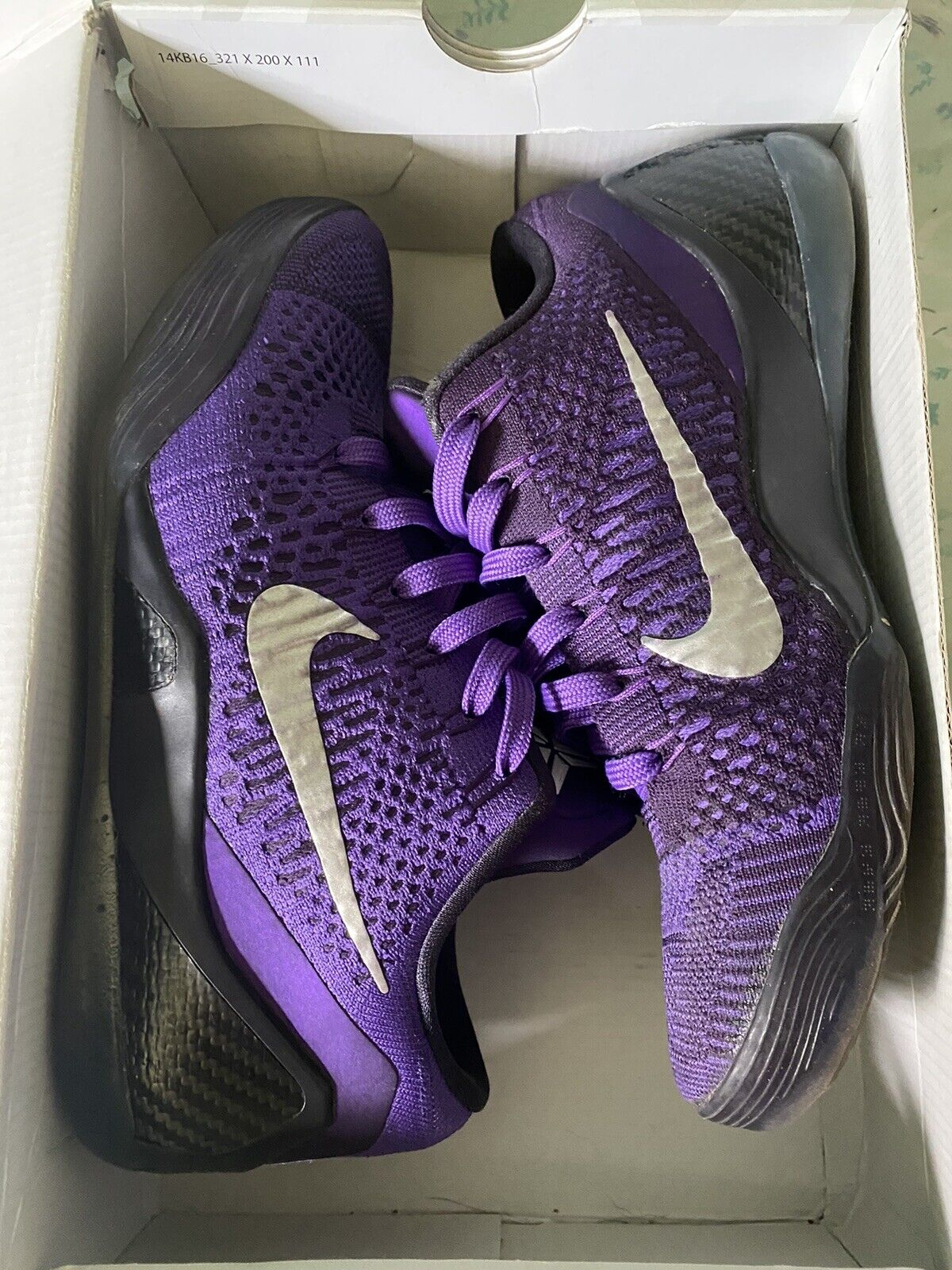 Nike Kobe IX 9 Elite Low Moonwalker