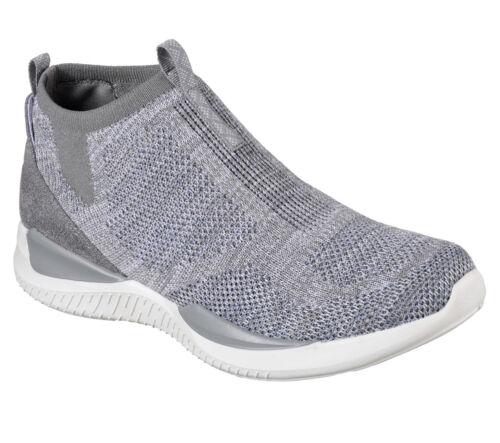 NEU SKECHERS Damen Sneakers MATRIXX-MODERN ESSENTIAL Grau