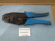 Ideal Crimpmaster 30 506 Crimp Tool With 30 581 Die Set Rgg58 5962 Bnc Tnc F558