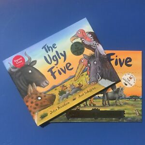 The-Ugly-Five-signed-by-Julia-Donaldson-gruffalo-gift-set-perfect-present