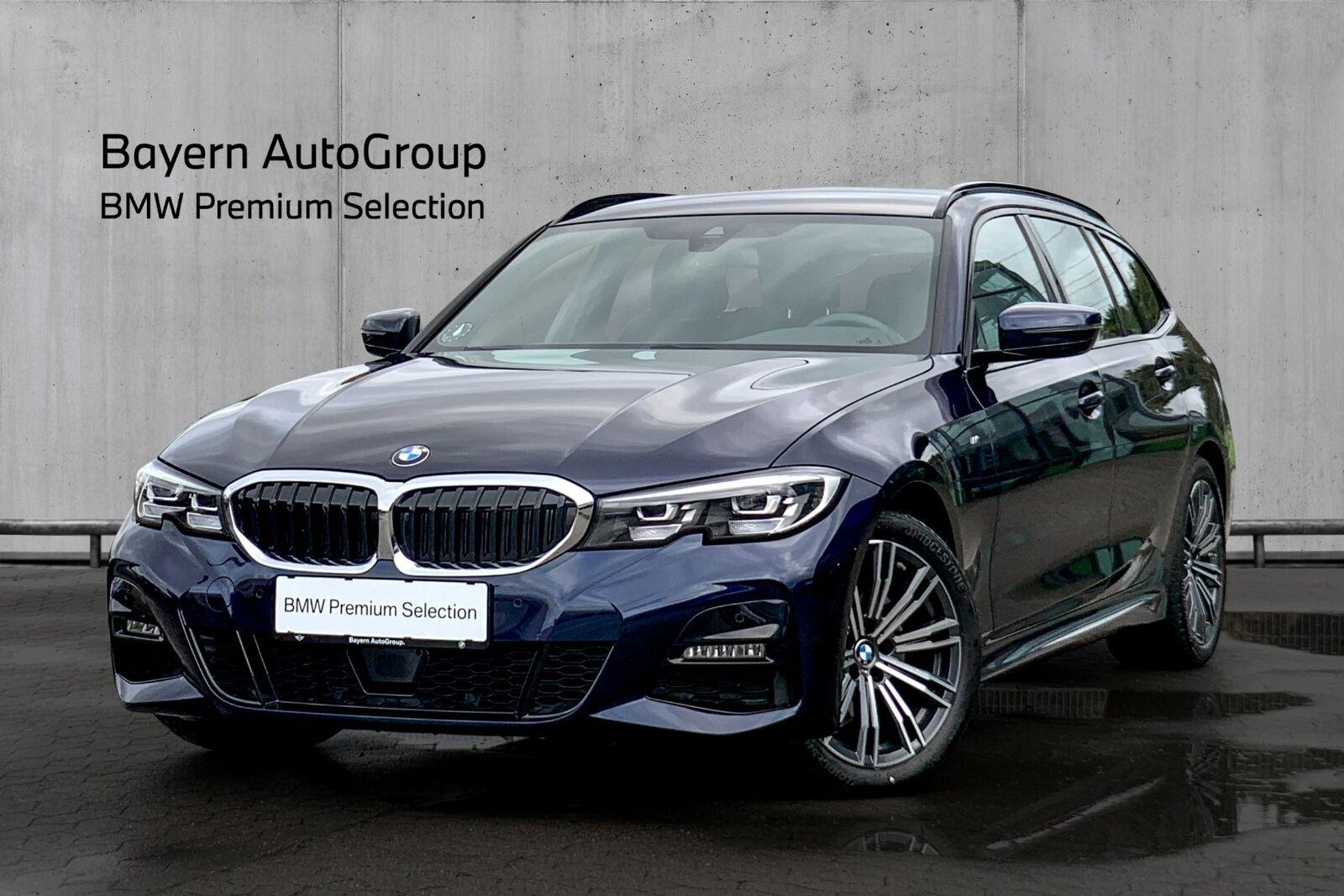 BMW 320d 2,0 Touring M-Sport aut. 5d - 500.000 kr.
