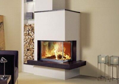Fondis Stella Angle Wood Burning Stove Ebay