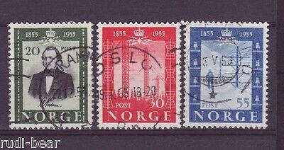 Hard-Working Norwegen Nr 387-89 Gest Telegrafie In Norwegen 1