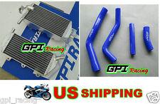 GPI Aluminum Radiator + blue hose Yamaha YZ450F YZF450 YZ 450F 2010-2013 11 12